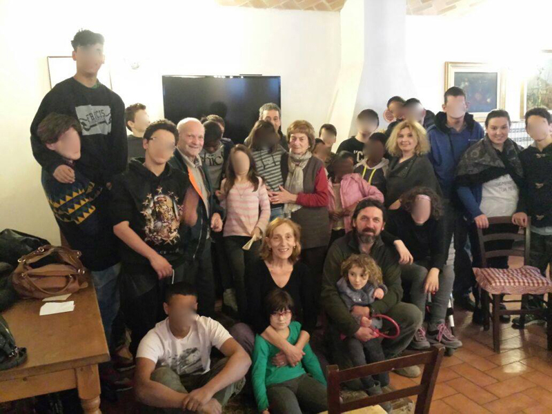 Lago di Pane Beppe Carla Arduini accoglienza minori
